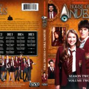 House of Anubis Season 2 Volume 2 (2012) R1 DVD Cover