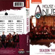 House of Anubis Season 3 Volume 1 (2013) R1 DVD Cover