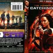 The Hunger Games: Catching Fire (2013) R1 DVD Cover