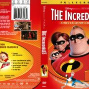 The Incredibles (2003) R1 DVD Cover