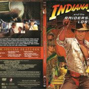 Indiana Jones and the Raiders of the Lost Ark (1981) R1 Slim DVD Cover