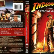 Indiana Jones and the Temple of Doom (1984) R1 DVD Cover
