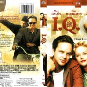 I.Q. (1994) R1 DVD Cover