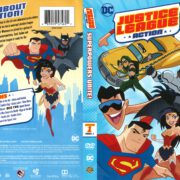 Justice League Action Season 1 Part 1 (2016) R1 DVD Cover