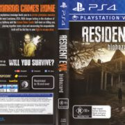 Resident Evil 7 (2017) PAL PS4 Cover