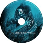 The Shape of Water (2017) R0 CUSTOM DVD Label