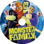 Monster Family (2017) R0 CUSTOM DVD Label