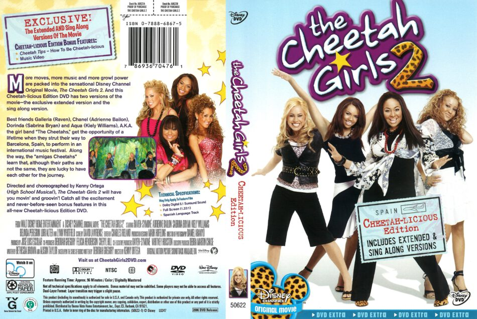 The Cheetah Girls 2 (2006) R1 DVD Cover - DVDcover Com