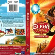 Elena of Avalor: Ready to Rule (2016) R1 DVD Cover