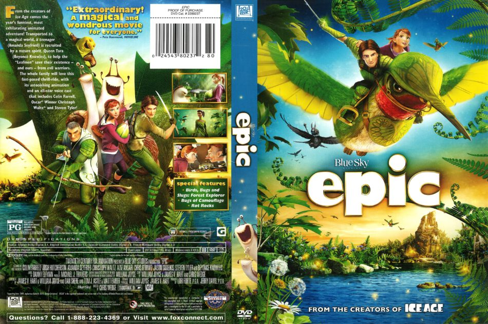 Epic 2013 R1 Dvd Cover Dvdcover Com
