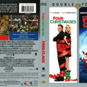 Four Christmases/Fred Claus Double Feature (2007) R1 DVD Cover