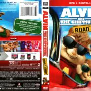 Alvin and the Chipmunks: The Road Chip (2015) R1 DVD Cover