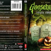 Goosebumps 3-Pack: Attack of the Jack-O-Lanterns/The Headless Ghost/The Scarecrow Walks at Midnight (2014) R1 DVD Cover