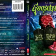 Goosebumps 3-Pack: Attack of the Mutant/The Blob That Ate Everyone/Go Eat Worms (2014) R1 DVD Cover