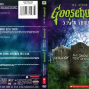Goosebumps 3-Pack: Chillogy/The Ghost Next Door/It Came From Beneath the Sink (2014) R1 DVD Cover