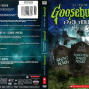 Goosebumps 3-Pack: Ghost Beach/A Night in Terror Tower/Scary House (2014) R1 DVD Cover