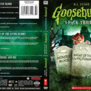 Goosebumps 3-Pack: Monster Blood/Night of the Living Dummy/Say Cheese and Die (2014) R1 DVD Cover
