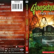 Goosebumps 3-Pack: One Day at Horrorland/Return of the Mummy/Shocker on Shock Street (2014) R1 DVD Cover