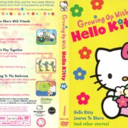 Growing Up with Hello Kitty: Hello Kitty Learns to Share (and Other Stories) (1976) R1 DVD Cover
