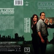 Law & Order: SVU Season 7 (2008) R1 DVD Cover
