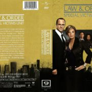 Law & Order: SVU Season 9 (2009) R1 DVD Cover