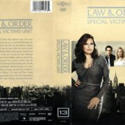 Law & Order: SVU Season 13 (2012) R1 DVD Cover