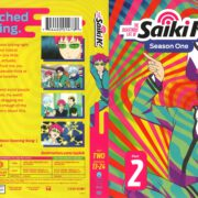 The Disastrous Life of Saiki K Season 1 Part 2 (2017) R1 Blu-Ray Cover