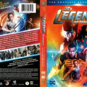 Legends of Tomorrow Season 2 (2017) R1 DVD Cover
