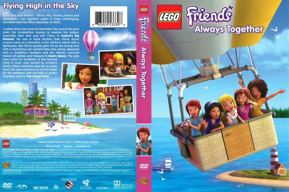 Lego Friends Always Together 2016 R1 Dvd Cover Dvdcovercom