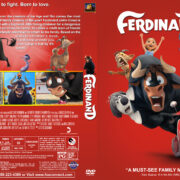 Ferdinand (2017) R1 Custom DVD Cover & Label
