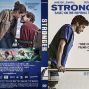Stronger (2017) R1 Custom DVD Cover & Label