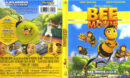 Bee Movie (2007) R1 Blu-Ray Cover & Label
