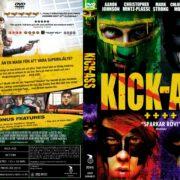 Kick-Ass (2010) R2 Swedish DVD Cover