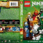 Lego Ninjago Masters of Spinjitsu Season 1 (2012) R1 DVD Cover