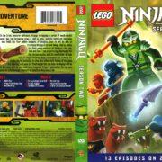 Lego Ninjago Masters of Spinjitsu Season 2 (2013) R1 DVD Cover