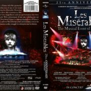 Les Miserables 25th Anniversary in Concert (2011) R1 DVD Cover