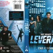 Leverage Season 1 (2008) R1 DVD Cover