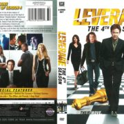 Leverage Season 4 (2011) R1 DVD Cover