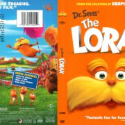The Lorax (2012) R1 DVD Cover