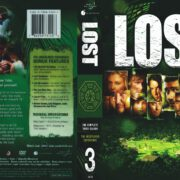 Lost Season 3 (2007) R1 DVD Cover