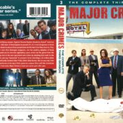 Major Crimes Season 3 (2015) R1 DVD Cover