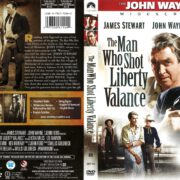 The Man Who Shot Liberty Valance (1962) R1 DVD Cover
