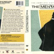 The Mentalist Season 6 (2013) R1 DVD Cover