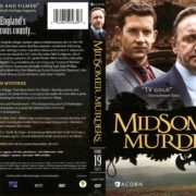 Midsomer Murders Series 19 Part 1 (2017) R1 DVD Cover