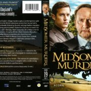 Midsomer Murders Series 19 Part 2 (2016) R1 DVD Cover