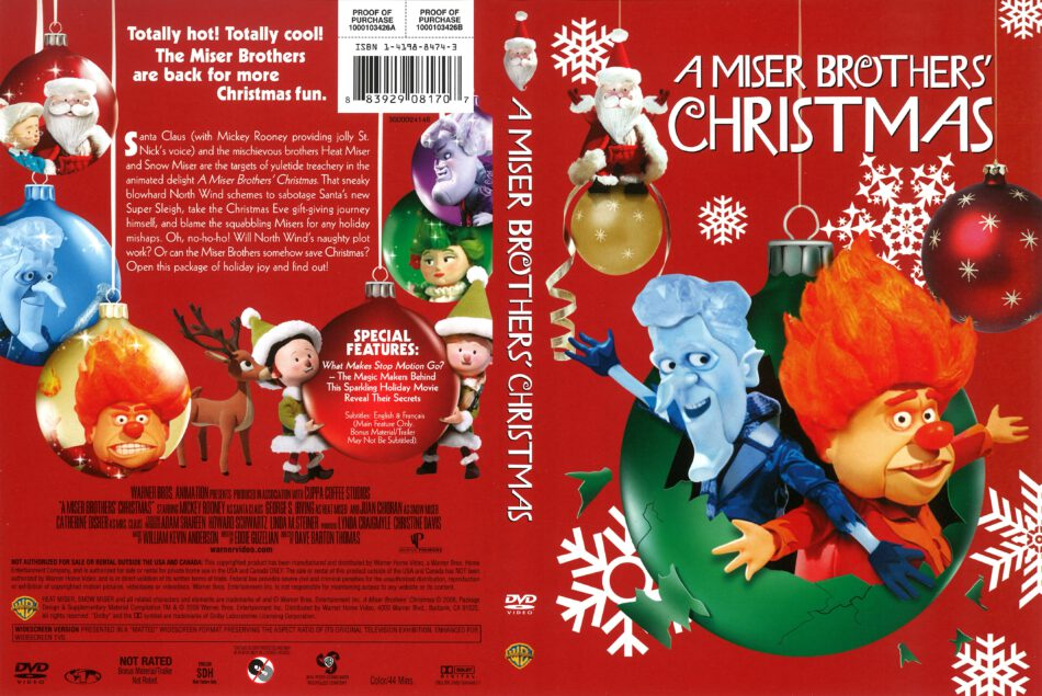 A Miser Brothers Christmas.A Miser Brothers Christmas 2009 R1 Dvd Cover Dvdcover Com