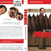 Monk Season 4 (2010) R1 DVD Cover