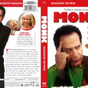 Monk Season 7 (2010) R1 DVD Cover