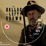 The Ballad of Lefty Brown (2017) R0 Custom DVD Label