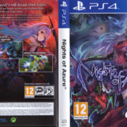 Nights of Azure (2016) PAL PS4 Cover